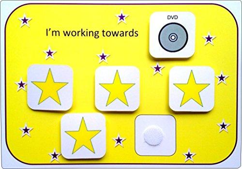 Plastic Visual ASD Reward Chart (Picture Communication -