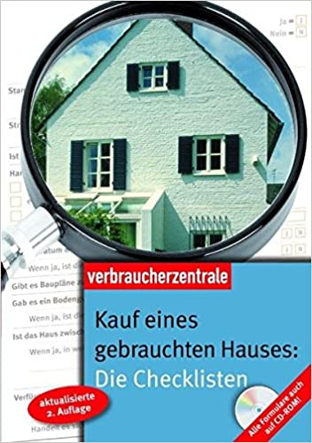 Kauf eines gebrauchten Hauses: Die Checklisten: Alle Formulare auch ...