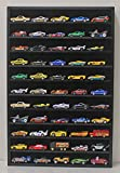 Hot Wheels Hotwheels Matchbox 1/64 Scale Model Cars Display Case Cabinet - NO DOOR (Black) HW10-BL