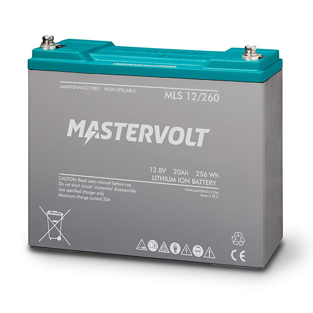 Mastervolt MLS 12/260 Batería BMS 12 V 20 Ah 256 Wh LiFePO4 integrada