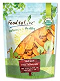 Organic Mango Cheeks by Food To Live (Dried, Non-GMO, Kosher, Unsulphured, Unsweetened, Bulk) — 12 Ounces