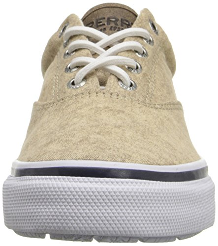 Sperry Top-Sider Herren Striper LL CVO Fashion Sneaker Weiße Mütze Tan