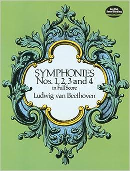 ベートーヴェン: 交響曲全集 第1巻: 第1-2番、第3番 「英雄」、第4番/ドーヴァー社/大型スコア