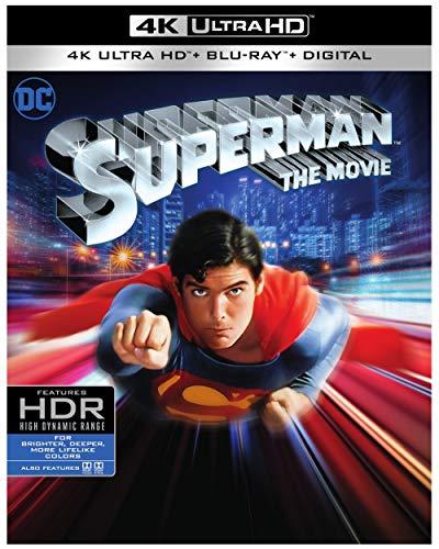 DVD : Superman Movie, The (4k UHD) [Blu-ray]