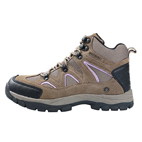 Northside Women's Snohomish Hiking Boot, Tan/Periwinkle, 7 M US by Northside (Image #5)