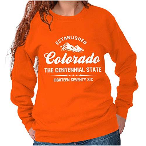 - Colorado State - Icon Printed Crewneck Sweatshirt