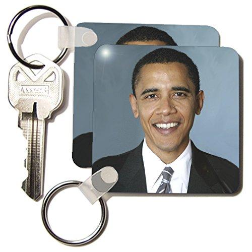 History - Obama Barack - Key Chains - set of 2 Key Chains (kc_5320_1) (Obama Barack Key)