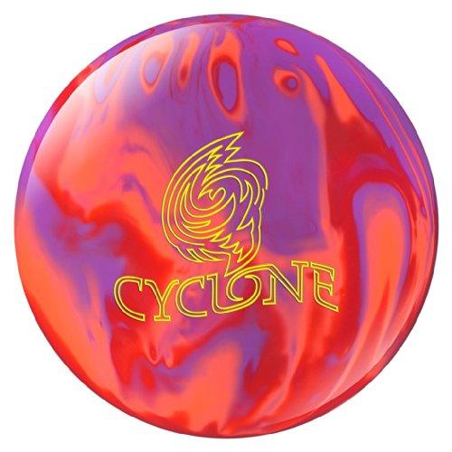 Ebonite Cyclone Bowling Ball- Orange/Purple/Red (16lbs) by Ebonite