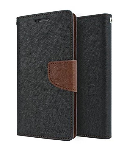 Sparkling Trends™ Fancy Diary Wallet Flip Cover Case for Nokia Lumia 520 Black Brown