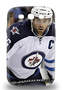 Premium 3D PC Case For Galaxy S3 Eco Package Retail Packaging NHL Winnipeg Jets Andrew Ladd #16 ( Custom Picture iPhone 6, iPhone 6 PLUS, iPhone 5, iPhone 5S, iPhone 5C, iPhone 4, iPhone 4S,Galaxy S6,Galaxy S5,Galaxy S4,Galaxy S3,Note 3,iPad Mini-Mini 2,iPad Air )