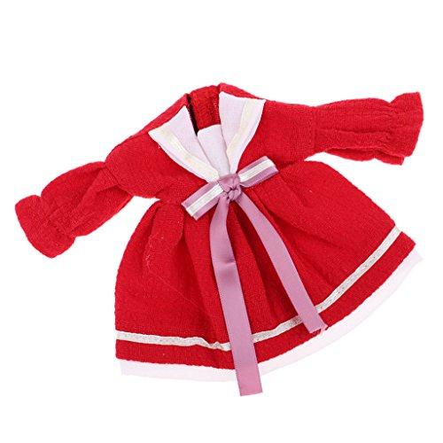 1 Noir 6 Rouge Tissu Baosity Jupe pour Jouets B Poupes Poupe Vintage de Style en v1SOqRnF