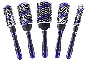 styling hair dryer brush ceramic thermal brush with temperatur 4136