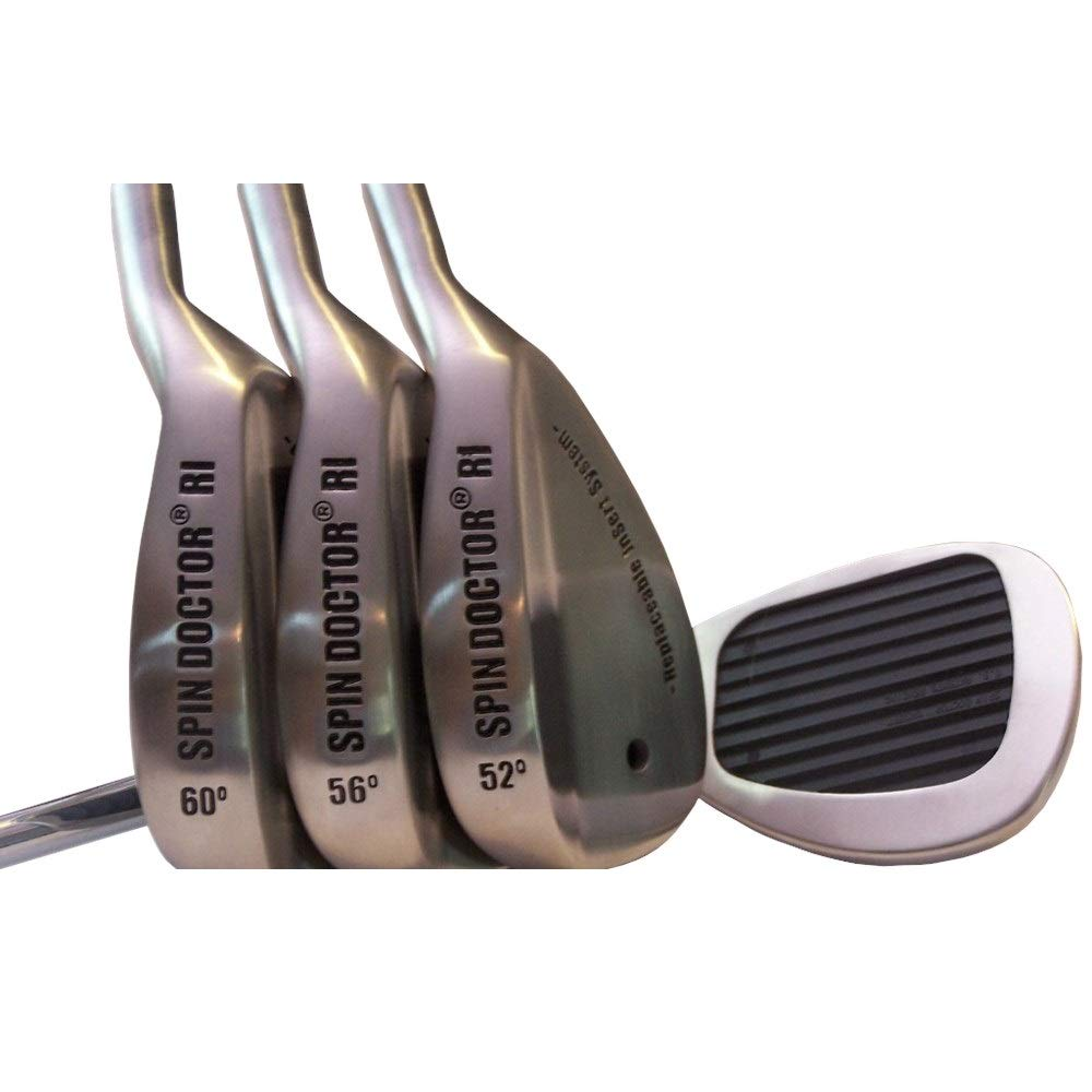 New Spin Doctor RI 52/56/60 Degree Pitching/Sand/Lob Golf Wedges