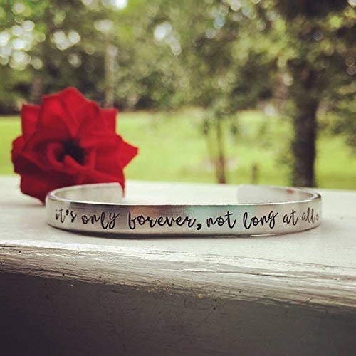 David Bowie Labyrinth quote bracelet
