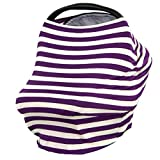 JLIKA Baby Car Seat Covers - Stretchy Infant Canopy and Nursing cover