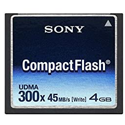 Sony 4 GB 300x CompactFlash Memory Card NCFD4G