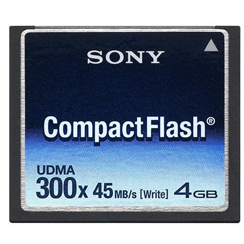 Sony 4 GB 300x CompactFlash Memory Card NCFD4G (Sony Compactflash)