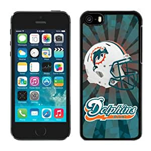 NFL&Miami Dolphins 08 iPhone 5C Case Gift Holiday Christmas Gifts cell phone cases clear phone cases protectivefashion cell phone cases HLNB605584975