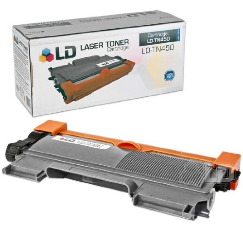 LD © Compatible High Yield Black Laser Toner Cartridge for Brother TN450, Office Central