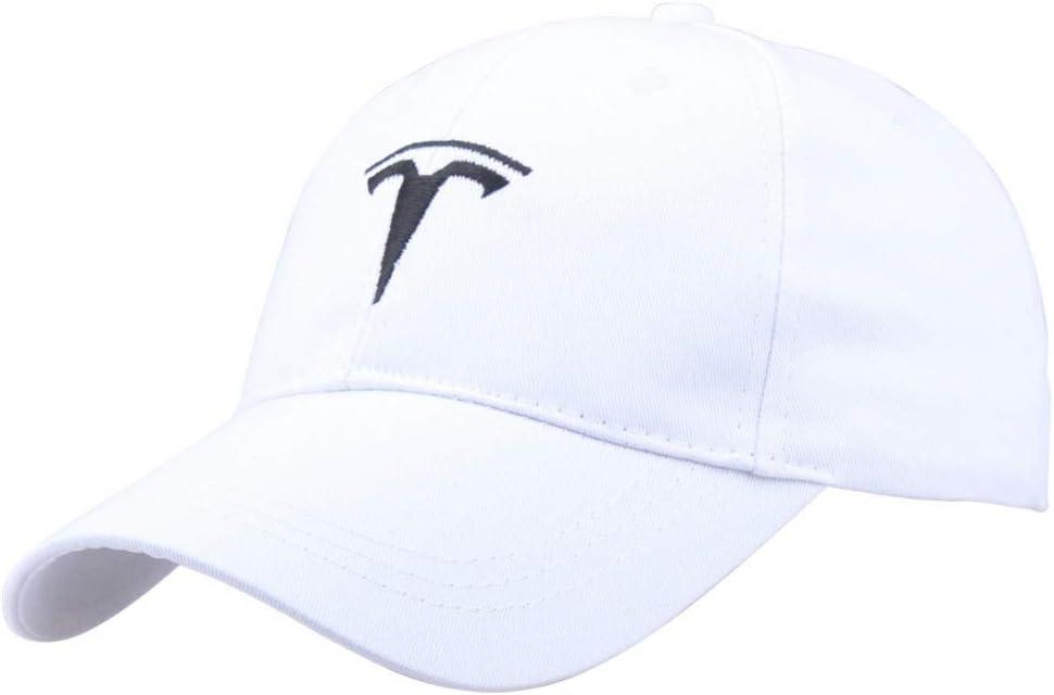 QYNQHY Gorra De B/éisbol Hombres Snapback Cap para Hombre Mujer Unisex Tesla Gorras De B/éisbol para Hombres Fan/áticos del Autom/óvil Sombreros