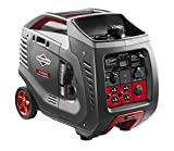 Briggs & Stratton 30545 P3000 PowerSmart Series Portable 3000-Watt Inverter Generator with (4)...