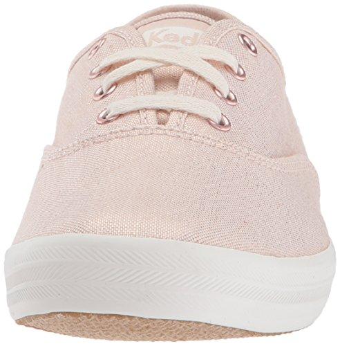Keds Metallic Rose Damen Gold Sneaker Linen Gold Ch Gold wwa74xPq