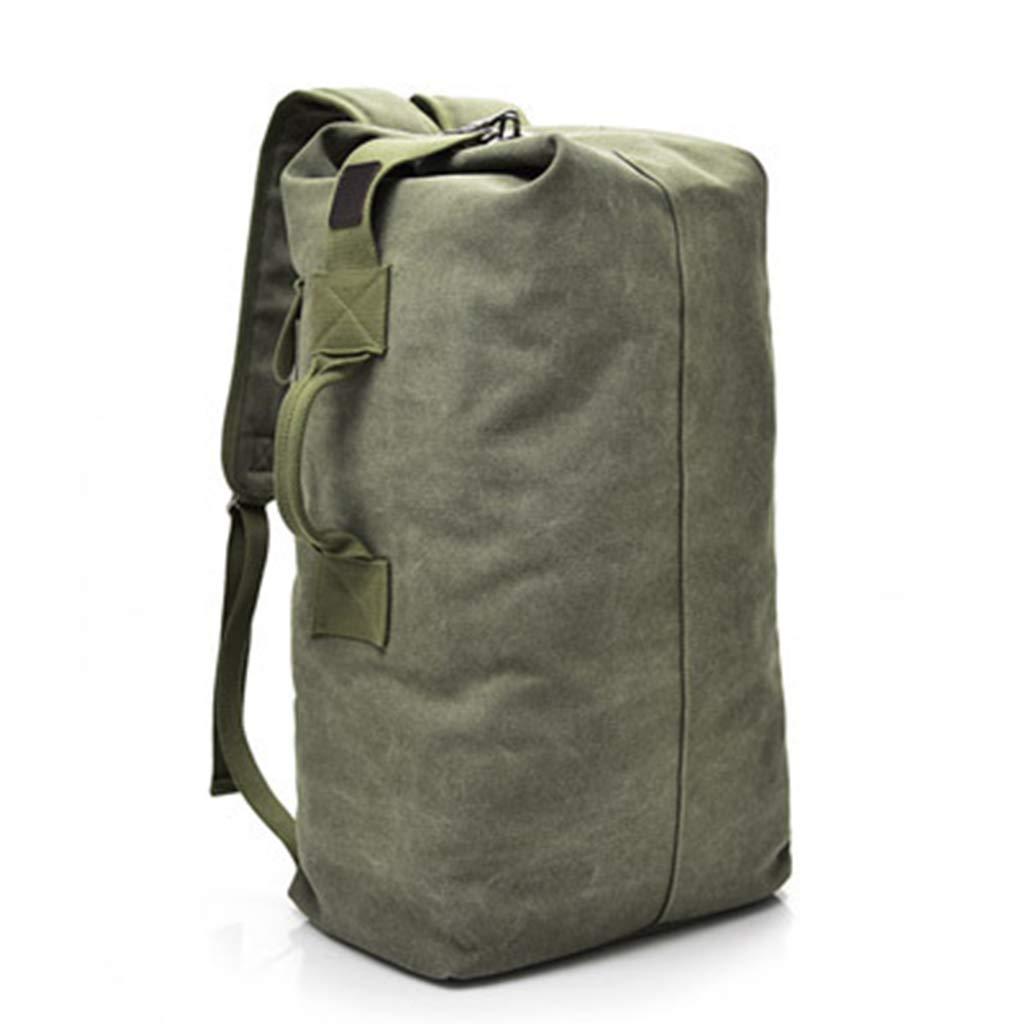 JTWJ 特大バックパックメンズキャンバスバックパック旅行大容量荷物は旅行アウトドア登山バッグを拡大することができます (Color : 3, Size : 45X26X20cm) 45X26X20cm 3 B07TFZYTBS