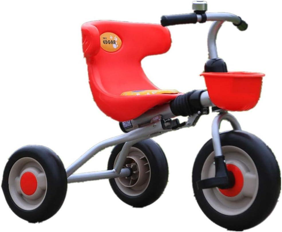 AJH Carros de Triciclo para niños Adaptado a Caballo Alto en Interior y Exterior Multi-Colores en Diferentes Bicicleta de Equilibrio Etapas Infantil para niños