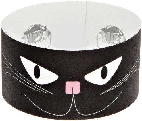 Roundabouts Cupcake Sleeves Black Cat Cupcake Sleeve (Pack of -