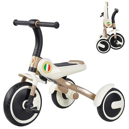 MC-F Portátil Triciclo de niños, Plegable Bici del Pedal de ...