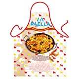 """La Paella"" (Spanish Rice) - Kitchen Apron - 100% Polyester"