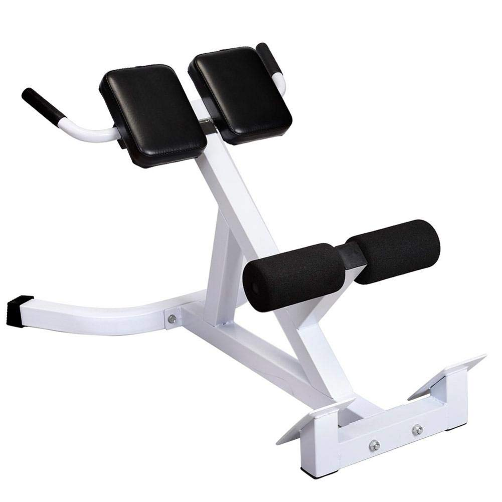 SSLine Hyperextension Bench Adjustable 45 Degree Abdominal Workout Roman Chair Bench for Training, Exercise (275Lbs)