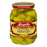 #3: Hot Chili Peppers, 32 Oz. (946 ml.) Kosher Spicy By Mezzetta