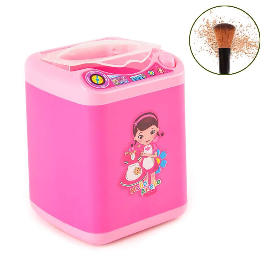 HONGXINYUAN Mini Lavadora Para Maquillaje De Esponja y Dispositivo ...