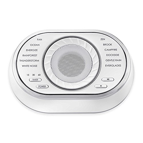 Price comparison product image HoMedics Calming, Relaxing Sleep Solutions Sound Soother Machine
