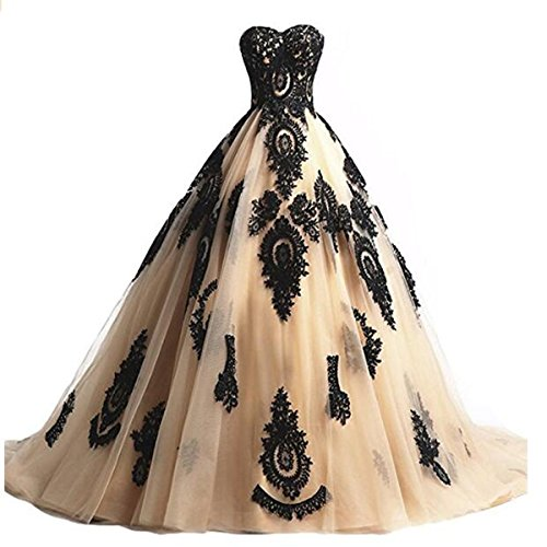 Fair Lady Champagne Quinceanera Dresses product image
