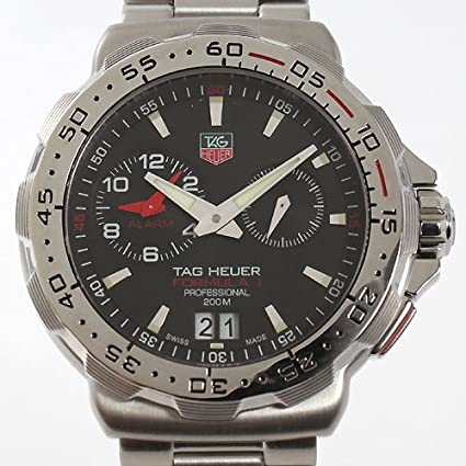 Amazon.com: TAG HEUER FORMULA 1 MENS ALARM WATCH WAH111C.BA0850 Wrist Watch (Wristwatch): Watches
