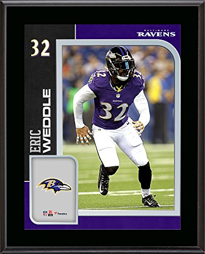 Eric Weddle Baltimore Ravens 10.5'' x 13'' Sublimated Player Plaque - NFL Player Plaques and Collages (Baltimore Ravens Best Players)