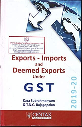 Exports Imports and Deemed Exports under GST
