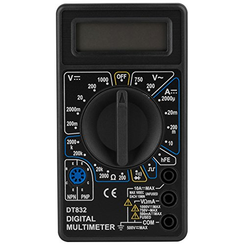 Parts Express 3-1/2 Digit 19 Range Digital Multimeter with Transistor Test