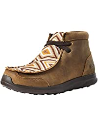 International Inc. Boys Kids Brown Aztec Spitfire Shoe