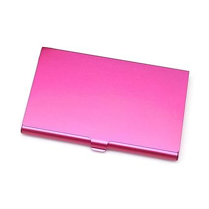 caja de la tarjeta de visita de aleación de aluminio ...