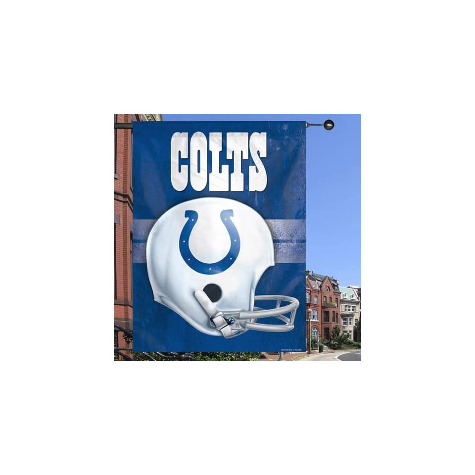 NFL Indianapolis Colts 27 x 37 Throwback Helmet Vertical Banner