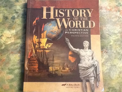 Abeka History of the World, Fourth Edition, 7th Grade for sale  Delivered anywhere in USA