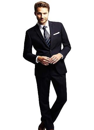 Amazon.com: WZW - Traje para hombre (chaqueta y pantalones ...