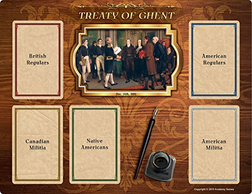 1812 - The Invasion of Canada Treaty of Ghent Board (1812 Invasion Of Canada The)