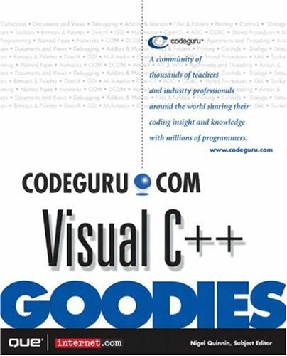 Codeguru.com Visual C++ Goodies by Brand: Que