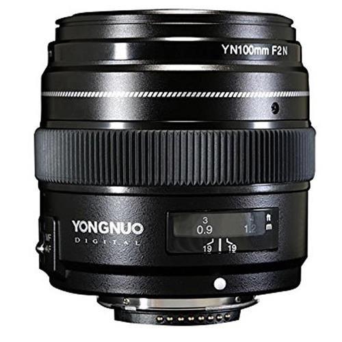 Yongnuo yn100 mm f2 N 1 : 2 AF MF大口径オートフォーカスPrime Lens for Nikon DSLR Cameras   B07546Q3F8