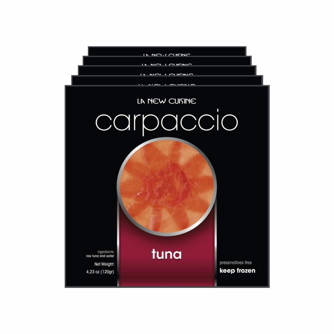 Tuna Carpaccio (Pack of 5) La New Cuisine Inc.