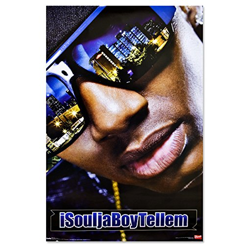 BEYONDTHEWALL Archive Soulja Boy Tell Em Rap Hip Hop Music Icon Celebrity Print (24x36 Unframed Poster)